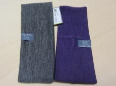 Stirnband PICKAPOOH, 70% Bio-Wolle (kbT) und Seide, lila
