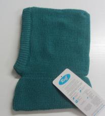 Reiff Strick-Schlupf-Mütze , 100% Bio-Wolle(kbT), innen 100% Bio-Baumwolle(kbA), marine