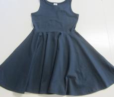 Leela cotton Träger-Jersey-Kleid, 100% Bio-Baumwolle (kbA), marine
