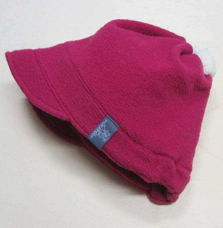 6c04731f73 Mütze PICKAPOOH-Luna-Baumwollfutter, 100% Bio-Wollwalk (kbT), pink ...