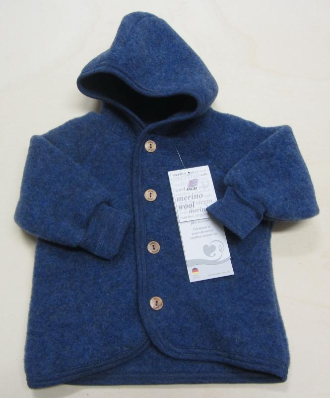 Bio Baby und Kinder Strickleggings 100/% Bio-Baumwolle Blau Melange 62//68 kbA GOTS zertifiziert