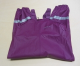 BMS Buddel-Latzhose, OEKO-TEX100 CLASS 1, purple