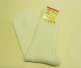 Hirsch Natur Socken, 100% Bio-Wolle (kbT), natur