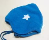 Mütze PICKAPOOH-Zoe Baumwollfutter (kbA), 100% Bio-Wollfleece (kbT), aqua