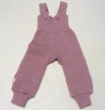 Disana Strick-Trägerhose, 100% Bio-Wolle (kbT), rosa