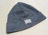 Mütze PICKAPOOH-Schlupper, 70% Bio-Wolle (kbT) und Seide, grau