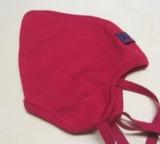 Mütze PICKAPOOH-Zoe, 70% Bio-Wolle (kbT) und Seide, rot