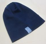 Mütze PICKAPOOH-Rapp, 97% Bio-Baumwolle (kbA) und 3% Elasthan, marine
