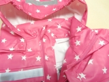 BMS Buddel-Jacke, OEKO-TEX100 CLASS 1, pink Sterne
