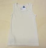 Cosilana Unterhemd ohne Arm, 45% Bio-Baumwolle, 35% Bio-Wolle und 20% Seide, natur