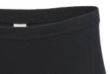 Engel-Damen-Panty Interlock, 100% Bio-Baumwolle (kbA), schwarz