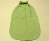 Cosilana Strampelsack Woll-Fleece, 60% Bio-Wolle(kbT) u. 40% Baumwolle(kbA), grün