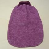 Cosilana Strampelsack Woll-Fleece, 60% Bio-Wolle(kbT) u. 40% Baumwolle(kbA), weinrot