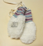 Pickapooh Baby-Fäustel Teddy, 100% Bio-Baumwolle(kbA)   natur