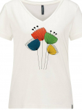 Tranquillo Damen-Shirt halbarm, 100% Bio-Baumwolle(kbA), natur