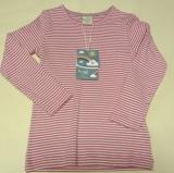 Frugi Kinder Shirt langarm, 100% Bio-Baumwolle(kbA), pink Ringel