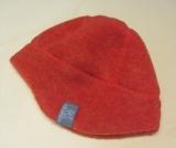 Mütze PICKAPOOH-Milan-Baumwollfutter, 100% Bio-Wollfleece (kbT), flamme