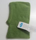 Reiff Strick-Schlupf-Mütze , 100% Bio-Wolle(kbT), innen 100% Bio-Baumwolle(kbA), grau