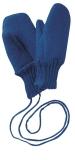 Disana Wollwalk Fäustlinge, 100% Bio Wolle (kbT), marine