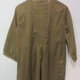 Thought Damen-Bluse 3/4A., 100% Bio-Baumwolle(kbA), uni desert-braun