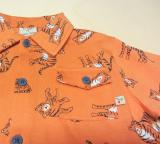 Frugi Polo-Shirt kurzarm, 100% Bio-Baumwolle (kbA), orange tiger