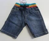 Frugi-Jeans-Short, 98% Bio-Baumwolle (kbA) 2% Elasthan, Schlupfform
