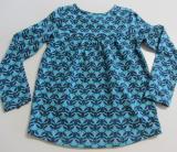 Tranquillo Shirt langarm, 95% Bio-Baumwolle(kbA), blau gemustert