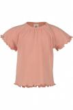 Engel Baby-Shirt kurzarm, 70% Bio-Wolle (kbT) und Seide, lachs