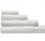 Cotonea Frottee Handtuch, 100% Bio-Baumwolle (kbA), weiß