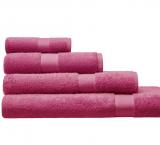 Cotonea Frottee Handtuch, 100% Bio-Baumwolle (kbA), rosa
