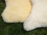 Natur-Lammfell, pflanzlich gegerbt, geschoren