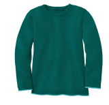 Disana Pullover, 100% Bio-Wolle (kbT), pacific