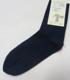 Socken, Bio-Baumwolle, marine
