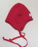 Mütze PICKAPOOH-Radler, 97% Bio-Baumwolle (kbA) 3% Elasthan, rot