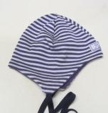 Mütze PICKAPOOH-Radler, 70% Bio-Wolle (kbT) und Seide, lila-natur