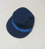 Mütze PICKAPOOH-Mika UV 80, Bio-Baumwolle, marine