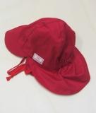 Mütze mit Schild, PICKAPOOH-Tom UV 20, 100% Bio-Baumwolle (kbA), rot