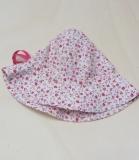 Mütze PICKAPOOH-Nanda, Bio-Baumwolle, natur pink