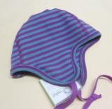 Mütze PICKAPOOH-Leon, 97% Bio-Baumwolle (kbA) 3% Elasthan, pink-türkis