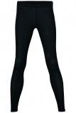 Damen-Leggings, Wolle-Seide, schwarz