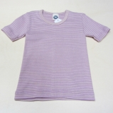 Hemd kurzarm, Bio-Baumwolle, pink-natur-rosa