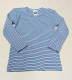 Hemd langarm, Bio-Baumwolle, blau-marine-weiß