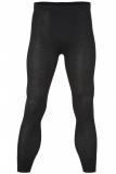 Engel Herren-Unterhose lang ohne Eingriff, 70% Bio-Wolle(kbT) u. Seide, schwarz