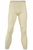 Engel Herren-Unterhose lang ohne Eingriff, 70% Bio-Wolle(kbT) u. Seide, natur