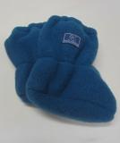 Pickapooh Stiefelchen, 100% Bio-Wollfleece (kbT), blau