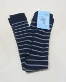 Grödo Legging, 75% Wolle (kbT) 23% Baumwolle (kbA) u. 2% Elasthan, marine-grau