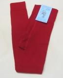 Grödo Legging, 75% Wolle (kbT) 23% Baumwolle (kbA) u. 2% Elasthan,  rot