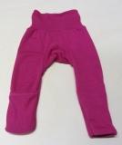 Baby-Legging, Bio-Wolle und Seide, pink