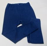 Cosilana Leggings, 70% Bio-Wolle (kbT) und Seide, marine