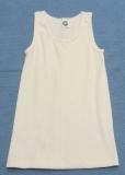 Cosilana Unterhemd ohne Arm, 70% Bio-Wolle (kbT) und Seide, natur